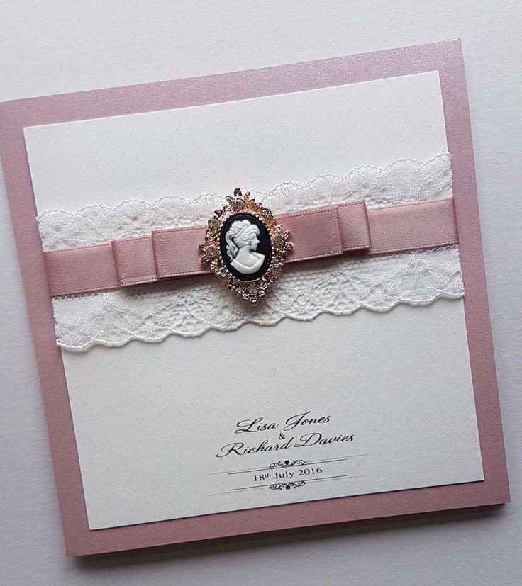 42 best Handmade wedding invitations images on Pinterest