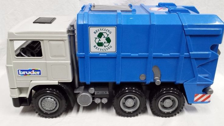 Infant Carrier Ebay Bruder Garbage Recycle Truck 1 16 Big Quality Toy Truck