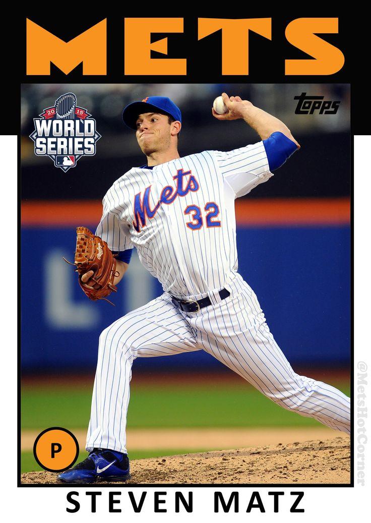 2015 World Series Steven Matz Mets, Mets baseball, New