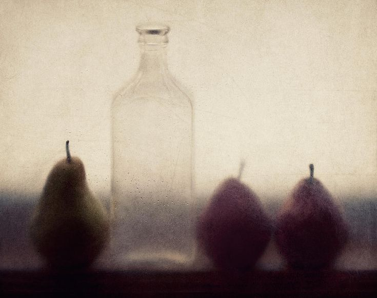 Pear Photograph - Autumn Light by Amy Weiss