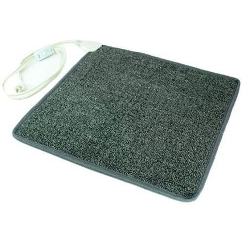 Electric Heating Pad Carpeted Feet Floor Foot Mat Portable Rest Warmer Warming #CozyProducts