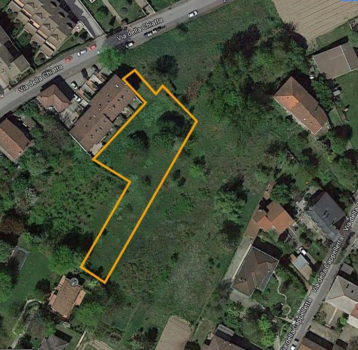 Possibilità di realizzare una grande casa unifamiliare, una villa bifamiliare o una palazzina residenziale plurifamiliare