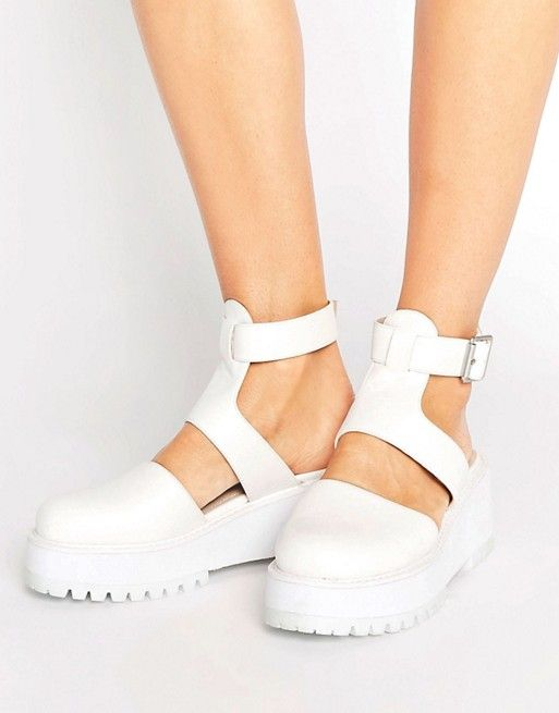 ASOS OVER THE MOON Chunky Heels
