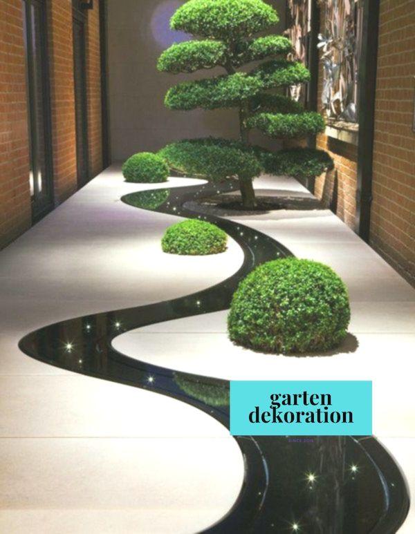Ideen Gartengestalten Garten Anlegen Boden Beleuchtung Anlegen