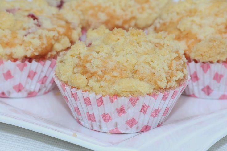 Wonder Wunderbare - Küche: Himbeermuffins mit Butterstreusel