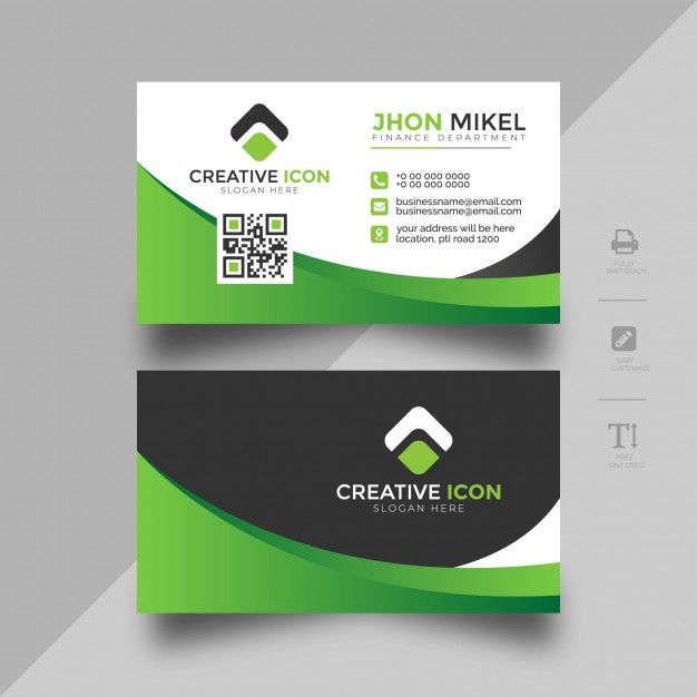 Colorful Business Card Abstract Template Colorful Business Card Business Cards Layout Company Business Cards