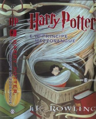 Harry Potter and the Half-Blood Prince cover from Italy.
