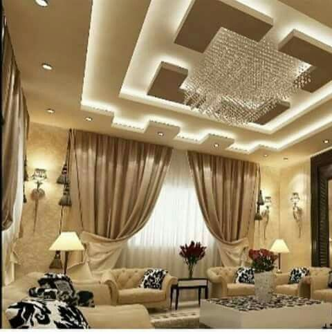 17 best ideas about false ceiling design on pinterest for Latest living hall design