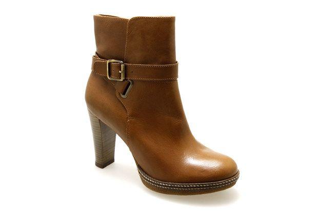 Bottines SAN MARINA ASMETTE Cognac - Chaussures femme