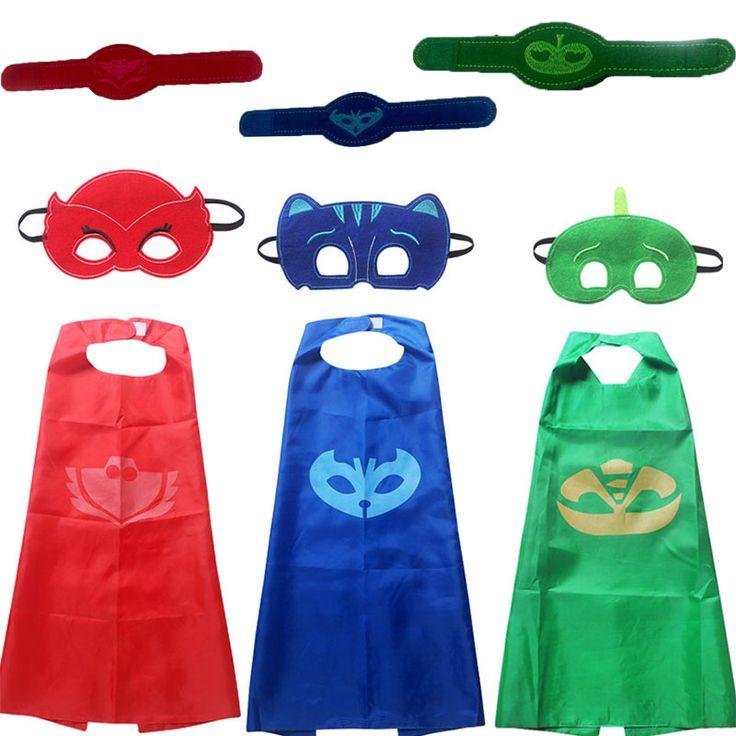 $4.30 (Buy here: https://alitems.com/g/1e8d114494ebda23ff8b16525dc3e8/?i=5&ulp=https%3A%2F%2Fwww.aliexpress.com%2Fitem%2Fhalloween-gift-toy-Superhero-Catboy-Owlette-Gekko-Masks-Cape-Set-boy-Cosplay-Kids-Dress-Up-Christmas%2F32722067969.html ) halloween Costume for kids gift Catboy Owlette Masks Cape infant Clothing Set Boys Party Cosplay Disfraces Carnival present for just $4.30