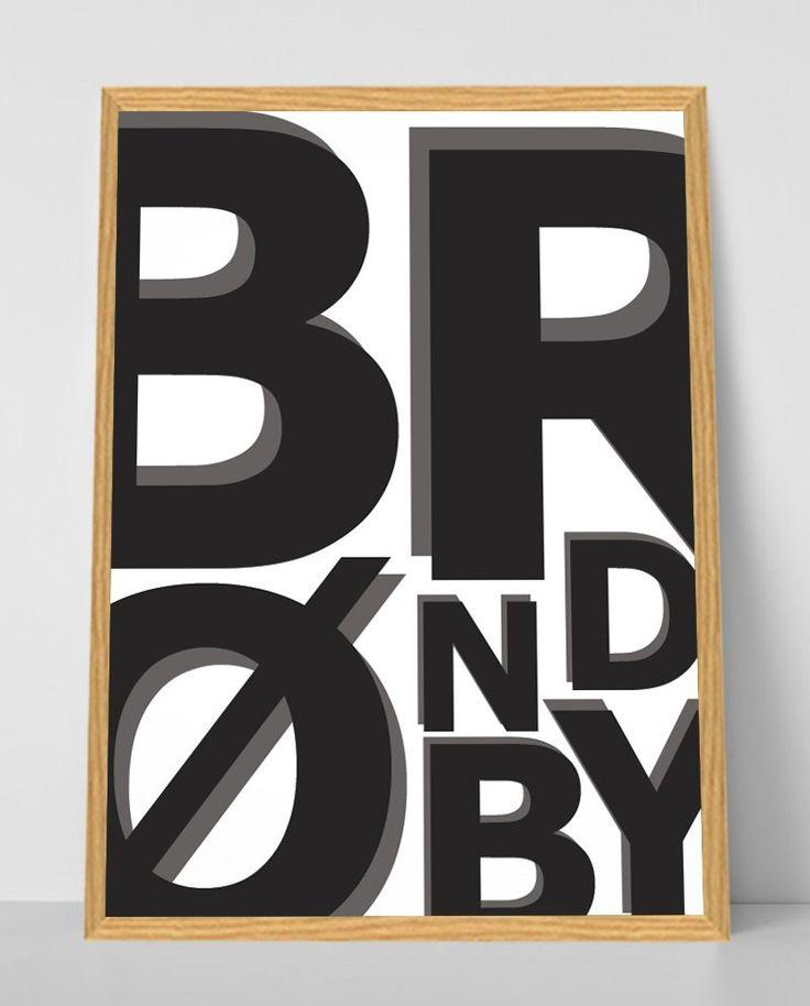 Brøndby grafisk design