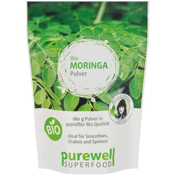 MORINGA Pulver - Bio Superfood - Melanie Wenzel Edition by www.feelgood-shop.com