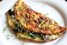 Spinat - Käse - Omelett