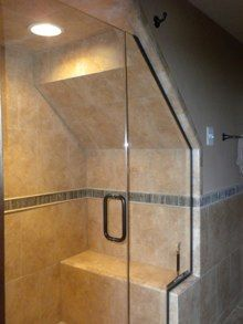 Shower Under Stairs More