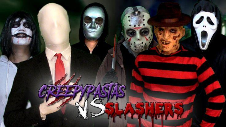 Creepypastas vs Slashers. Batalla Final de Rap (Especial Post-Halloween)...