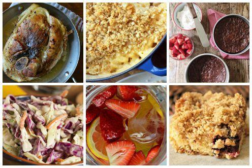 A make-ahead summer party menu, perfect for serving buffet-style. - EatSavvy Blog