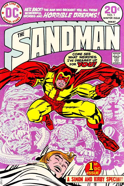 Purple Sandman #1 from 1974.  Click the pic and find our more...