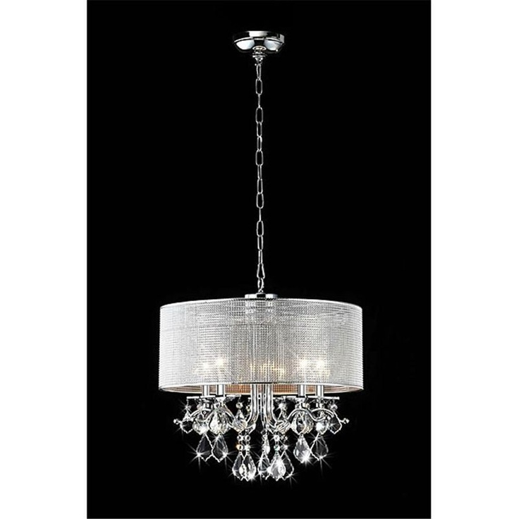 crystal chandeliers lights fixtures drums shades round crystals. Black Bedroom Furniture Sets. Home Design Ideas