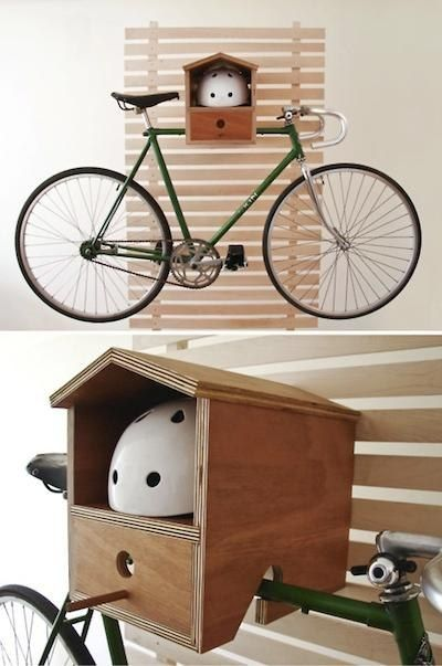 1000 images about home is where you hang your bike on for Creative bike storage