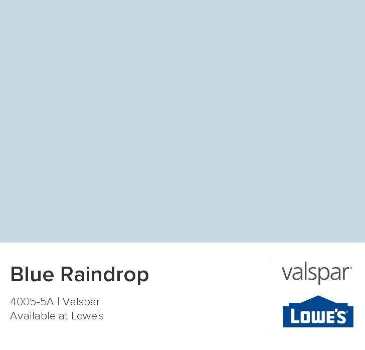 lowes valspar blue raindrop paint - Google Search