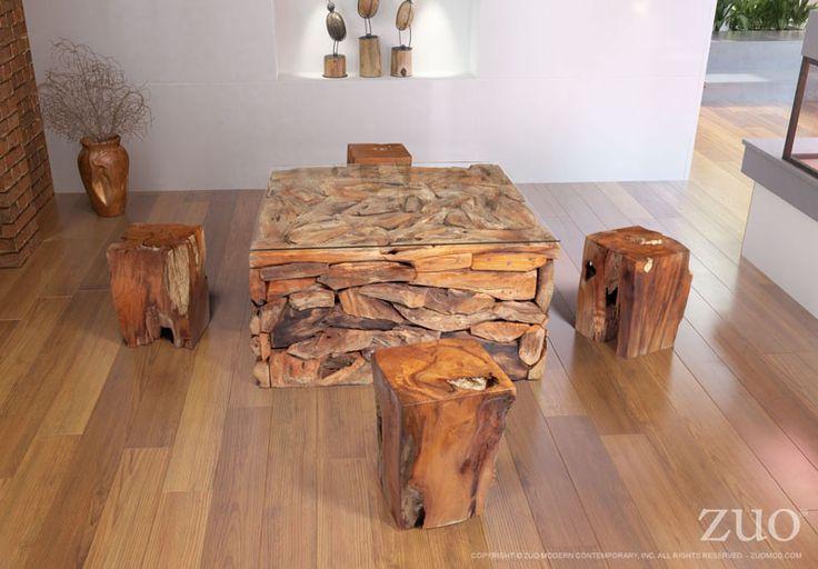 Zuo Erosion Coffee Table – Modish Store