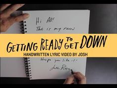 "Josh Ritter - Getting Ready to Get Down [Official Lyric Video] ""Mama got a look at you and got a little worried, Papa got a look at you and got a little worried, Pastor got a look and said, ""Ya'll had better hurry"", Send her off to a little bible college in Missouri…"""