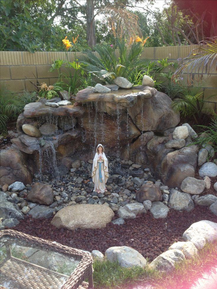 Backyard Mary grotto