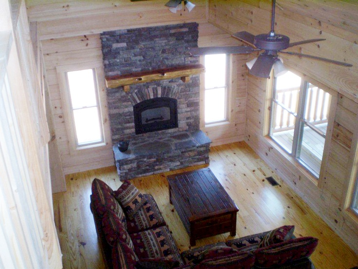 Banner Elk Log Cabin Series By Blue Ridge Log Cabins Living Room Livingroom Cabinliving
