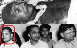 A Very rare photo of Nathuram Godse, who shot Mahathma Gandhi