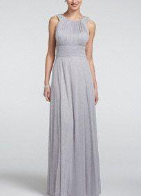 Grey Grecian Bridesmaid Dresses