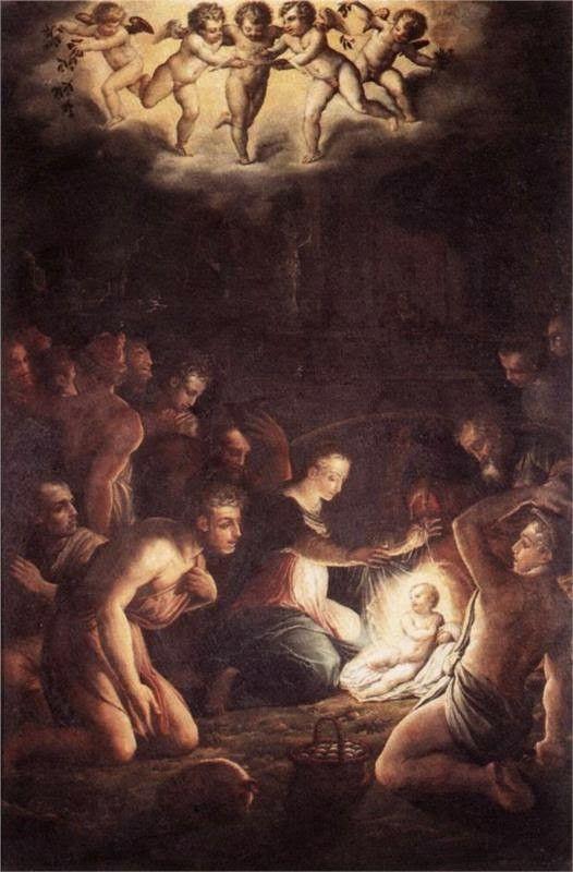 Giorgio Vasari - The Nativity