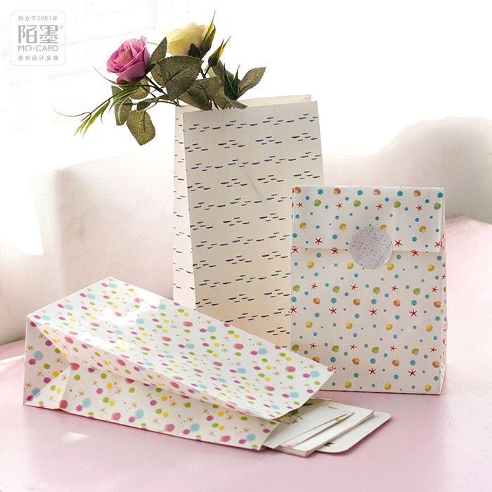 230*130*80mm/Hot Deer summer Paper Gift Envelope/Festival gift bags/Paper bag /wholesale 60 pcs/1 lot #Affiliate