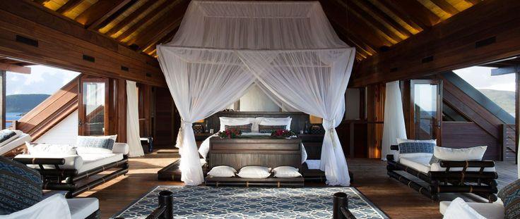 Luxury Holiday Ideas Necker Island Resort Interior Design
