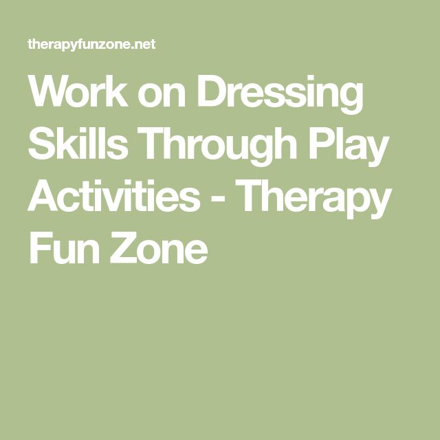 15 best ot images on pinterest work on dressing skills through play activities fandeluxe Image collections