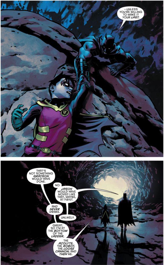 BATMAN'S ULTIMATE GOAL FOR THE ROBINS (Batman and Robin Eternal #22) Part 2