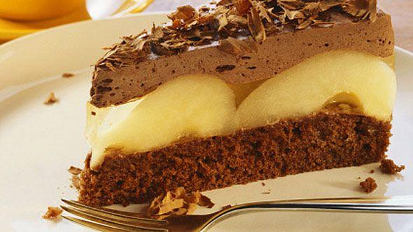 Schokoladentorte mit Birnen: Rezept auf for me