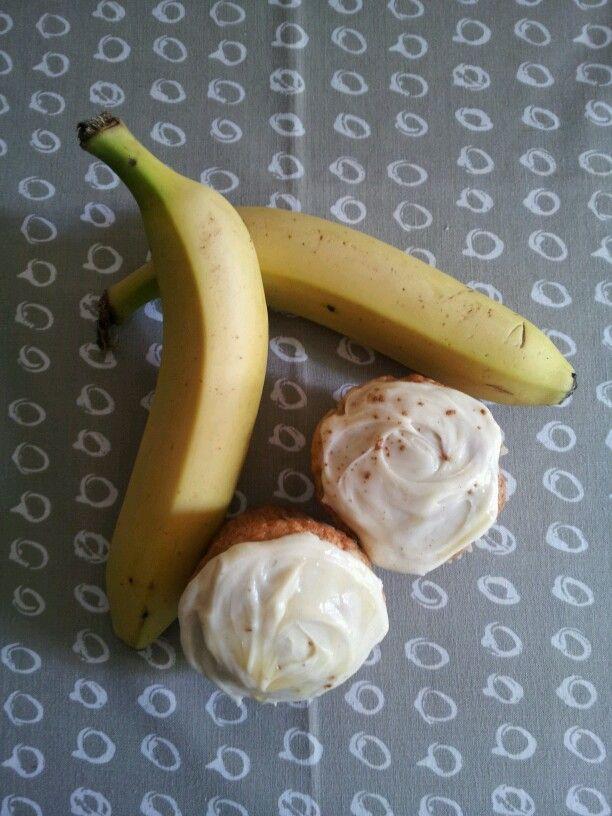 Cream cheese banana
