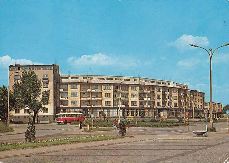 ul. Kolejowa, Białystok - 1974 rok, stare zdjęcia