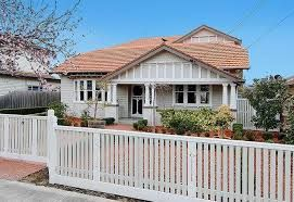 Image result for 1920s californian bungalow facade paint colours sydney