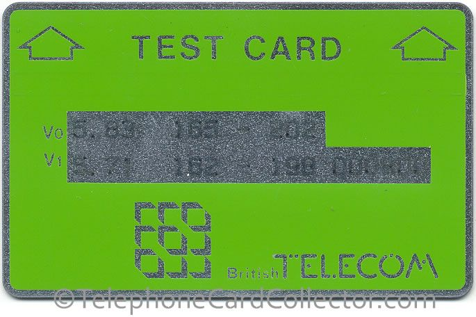 BTT002 Matt Test Card