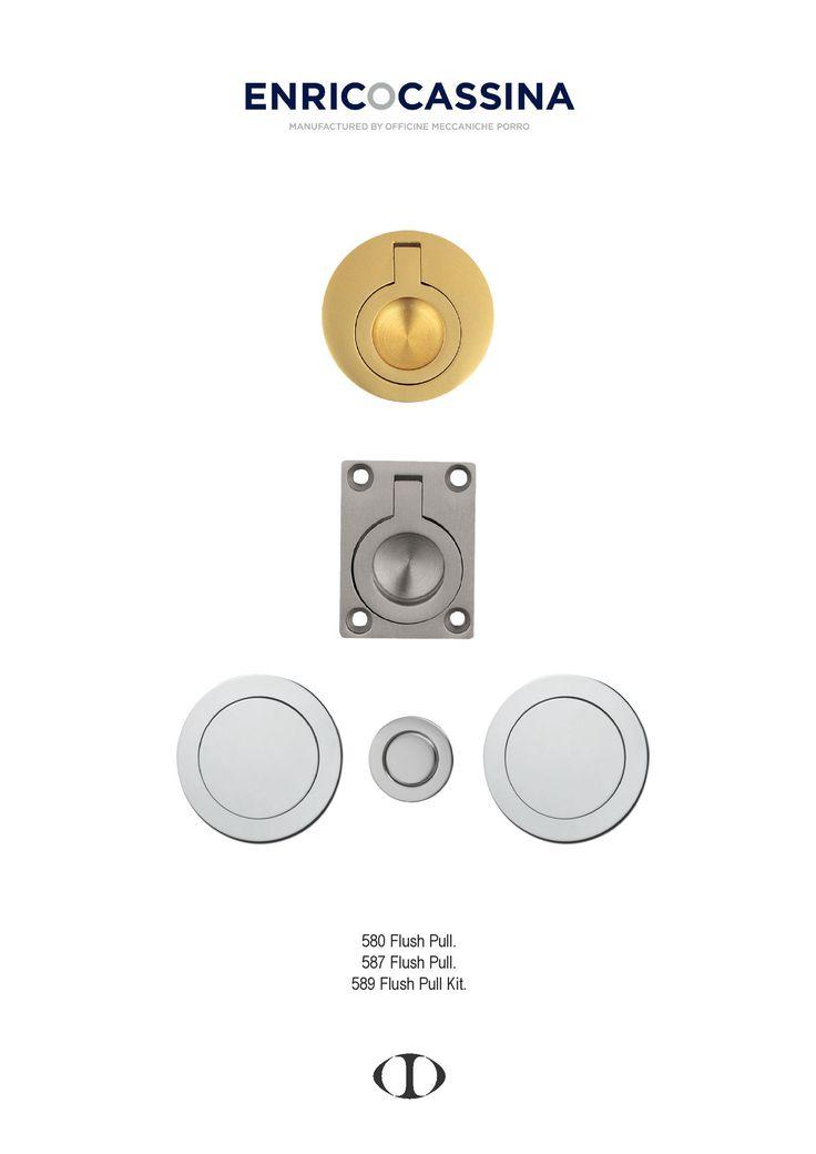 flush pull, round, square, polished brass, satin chrome. polished chrome, flush pull kit