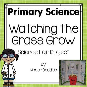 Watching the Grass Grow - a Primary Science Project. by Kinder Doodles