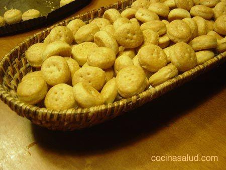 Galletas saladas de Inca receta