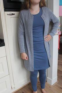 Mijn naaicreaties: Set: jurk, legging en vest en nog een pyama....