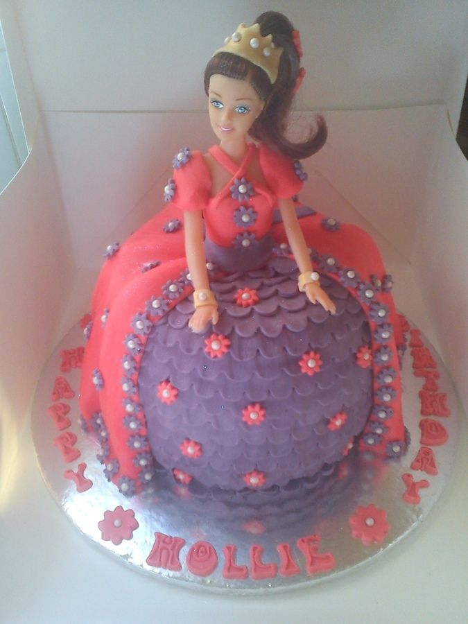 Princess Doll Cake — Children's Birthday Cakes