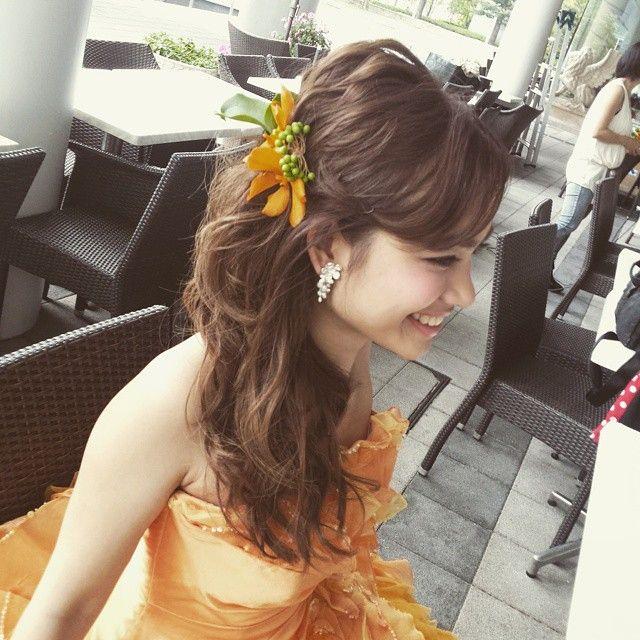 この画像は「花嫁さん必見!最高に可愛くなれる髪型カタログ」のまとめの12枚目の画像です。