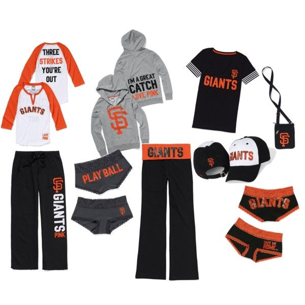 SF Giants by pink- since my bf is obsessed with them I guess I should get me some Giants gear!