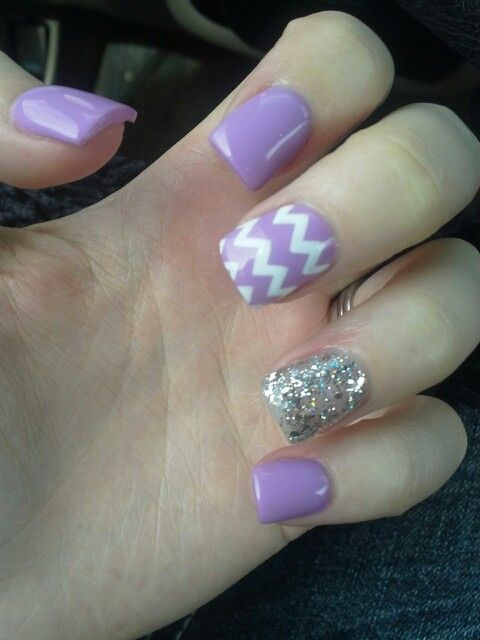 My short acrylic nails - Best 25+ Purple Acrylic Nails Ideas On Pinterest Acrylic Nail