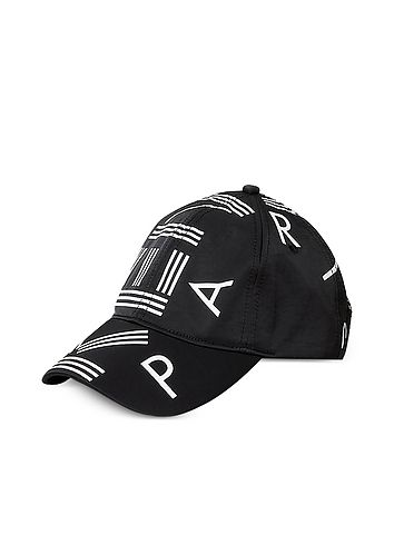 5b6fcdebebf Kenzo Black Nylon Kenzo Logo Sport Baseball Cap. Find this Pin and ...