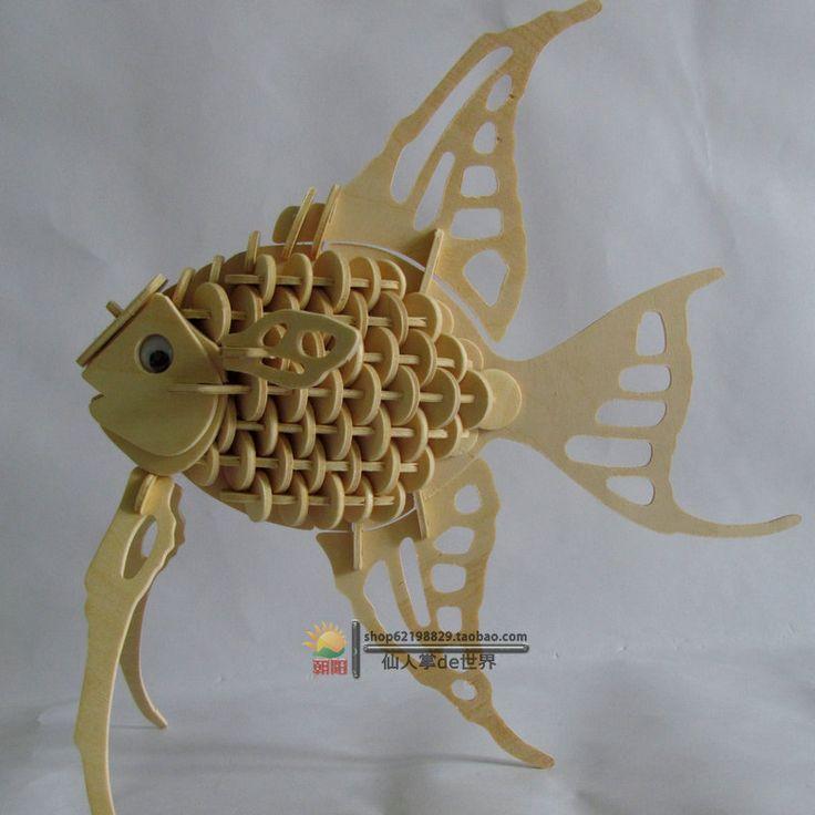 זול חדש חינוכי intelligent פנסי צעצוע 3d מודל חיה G H010 מלאך דגים בעבודת יד ערכת בניית יערנות diy פאזל עץ כדי, לקנות איכות חידות ישירות מספקי סין: ערכת בניית יערנות גודל : ( 34 X21X0.3 ) סנטימטר * 2 pieces אבזרים : פאזל עץ , גרפיקת הרכבה , נייר חול חומר : דיקט עץ להג
